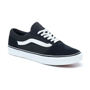 995d78fcaf0f Image is loading VANS-NEW-Womens-Maddie-Suede-Canvas-Shoes-Black-