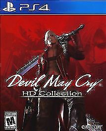 Devil May Cry HD Collection (PlayStation 4, 2018) Brand NEW !!