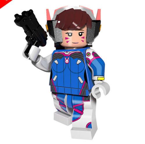█ Buy 2 Get 1 Free █ D Va Overwatch Custom Mini Figure MOC PG8104 1160