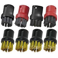 Nylon Brass Brush Nozzles for KARCHER SC3 SC3.100 SC4 SC4.100 Steam Cleaner x 8