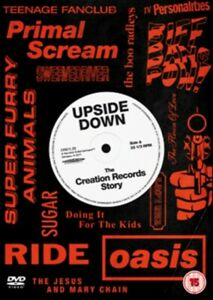 Nuovo Upside Giù - The Story Of Creation Records DVD (REVD2752)