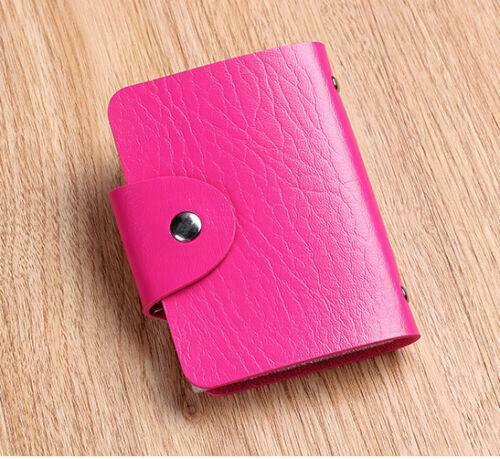 New Cute Womens Wallet Holder Pocket Business ID Card Credit Bag Case X-3