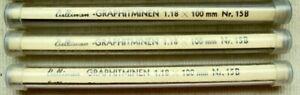 36-CULLINAN-LEADS-MINEN-1-18-mm-GRAPHIT-in-B-EACH-Lead-is100-mm-long