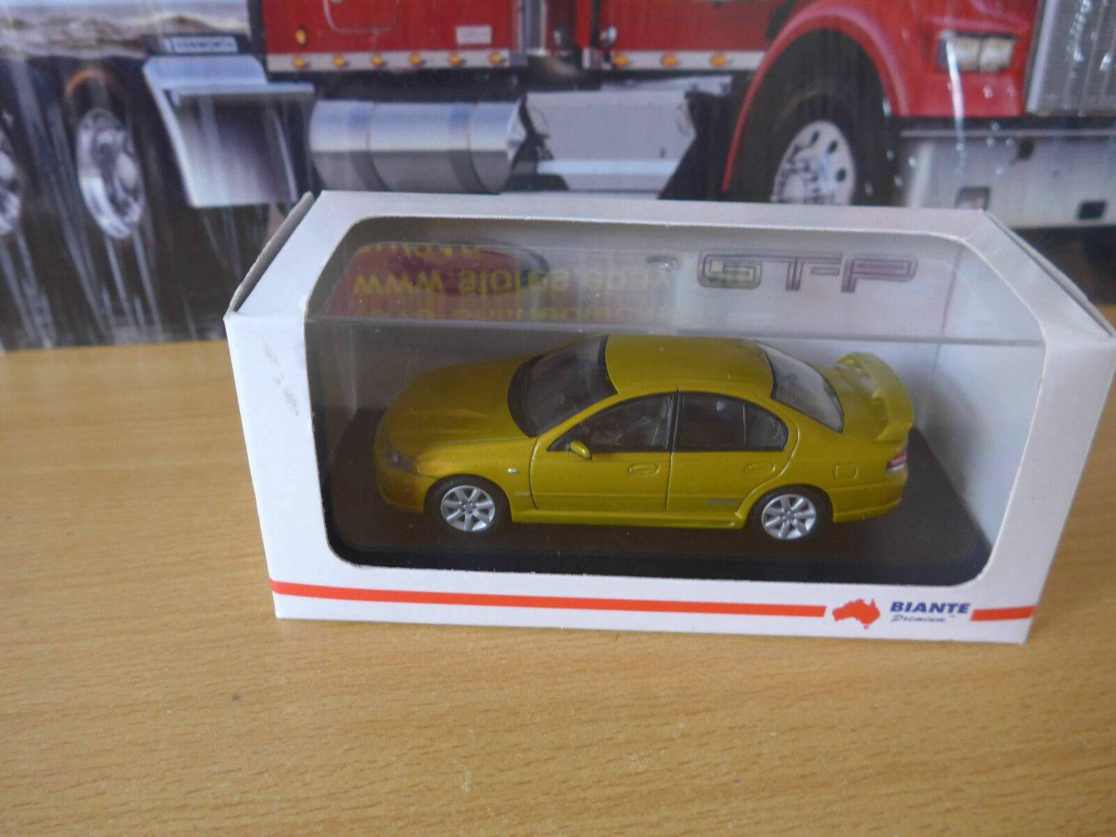 Biante Ford BA FPV GT-P COA Limited edtion with COA out of 2000