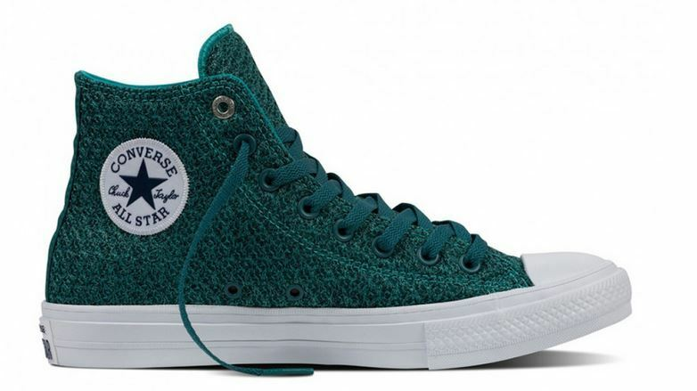 Converse Hi Chuck Taylor All Star II Spacer Mesh Hi Converse Top Sneaker Aegean Aqua/White b4e6b3
