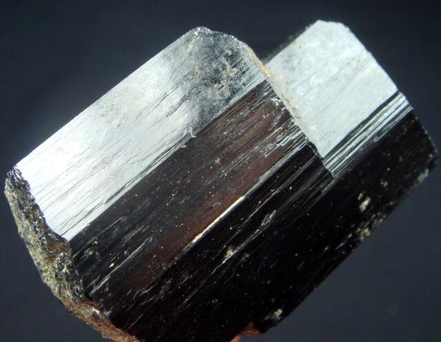 110g Gem Glossy Black Tourmaline/Schorl Crystal Mineral Specimen