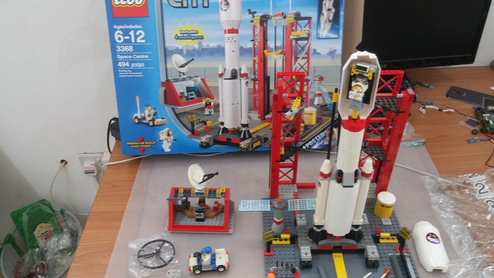 LEGO 3368-City Centre spatial Center ensemble complet utilisé   soutenir le commerce de gros