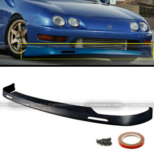 For 98-01 Acura Integra DC2 BYS Style Polyurethane PU Front Spoiler Bumper Lip