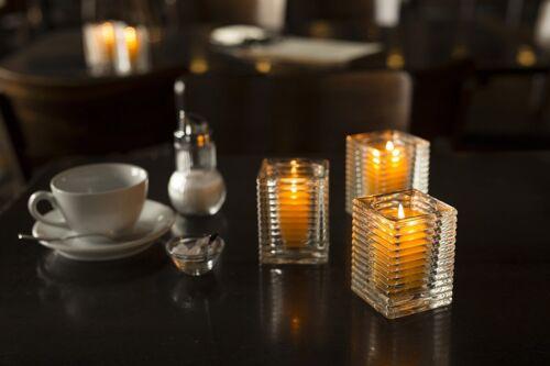 Brenndauer ca Sovie® Refill Kerzen in Blau 24 Stück im Tray 24 Std.