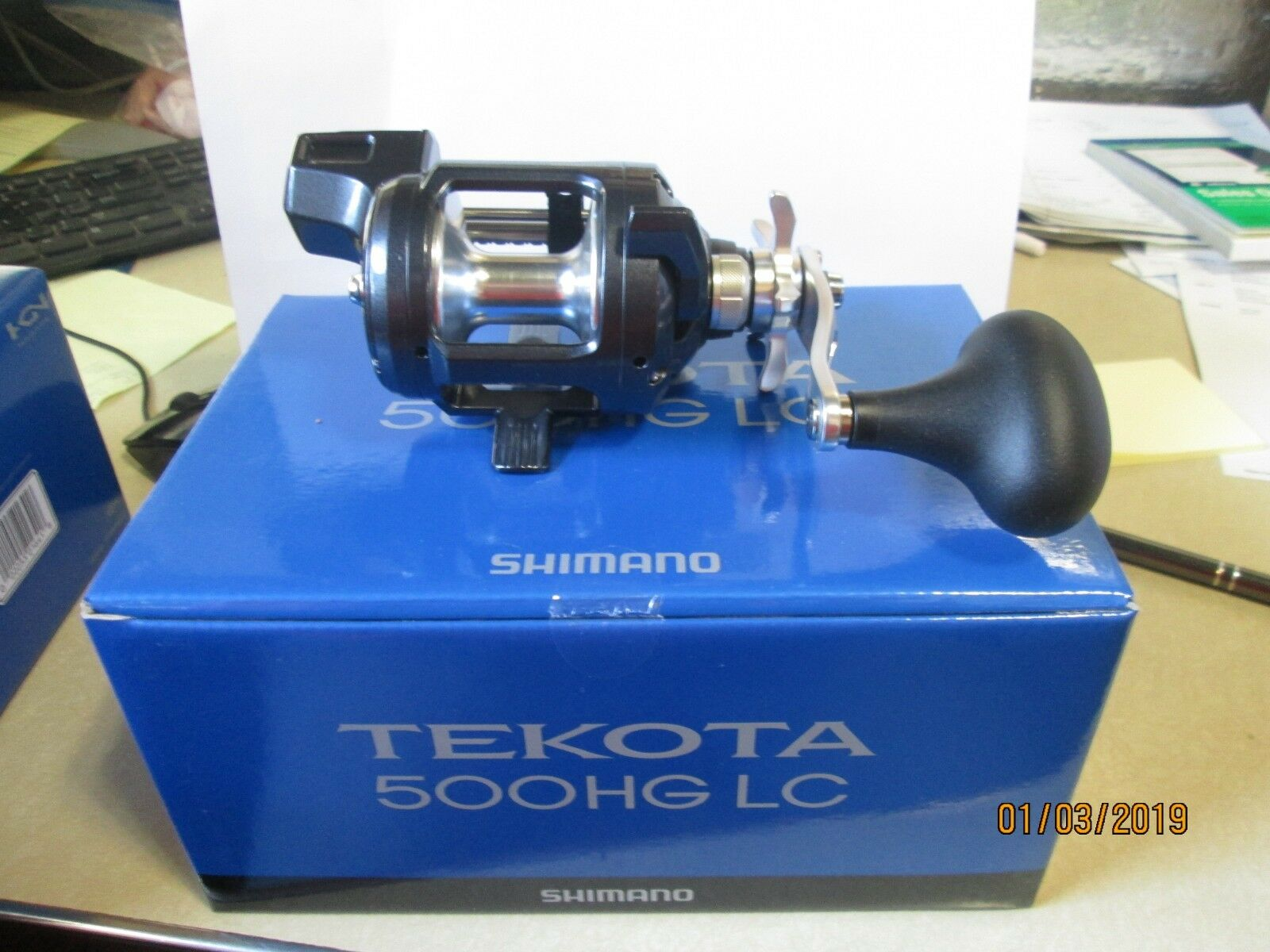 NEW MODEL SHIMANO TEKOTA 500HGLC LINE COUNTER  LEVEL WIND BAITCAST REEL 500 LC  fantastic quality
