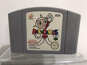RAKUGA KIDS N64 Nintendo 64 Vintage Video Juego-PAL-Cartucho únicamente