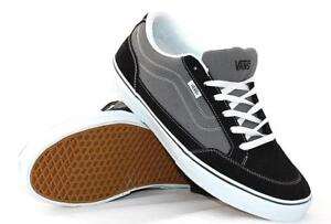 ee4ebb8c35 Image is loading NIB-Vans-Bearcat-BLACK-CHARCOAL-Classic-Skate-Shoes