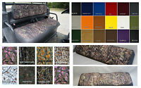 Kubota Rtv900 Seat Covers Thru 2003 In 2-tone Camo & Gray Or 25 Colors (plain)