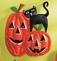 Bucilla Pumpkins Felt Wall Hanging Kit