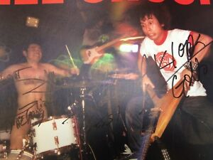 Electric-Eel-Shock-Go-USA-Gearhead-Signed-Promo-Poster-Japanese-Rock-N-Roll