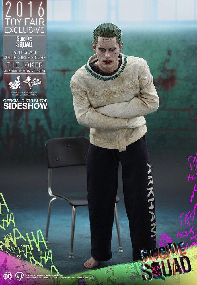 Hot Toys Exclusive 1 6 Arkham Asylum Joker Suicide Suicide Suicide Squad MMS 373 1f1448