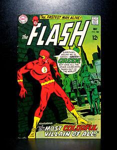 COMICS-DC-The-Flash-188-1969-Mirror-Master-app-RARE