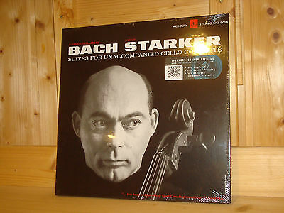 Bach 6 Cello Solo Suites Starker Audiophile Mercury 3x