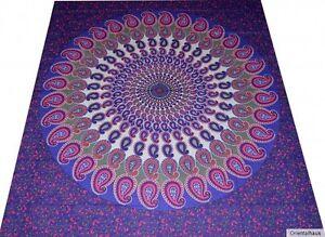 Couvre-lit-Inde-Tapisserie-Decoration-murale-GOA-HIPPIE-Rideau-Jete-Mandala-25