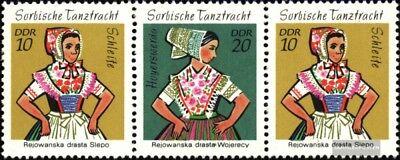 Deutschland Trachten Streng Ddr W9 Postfrisch 1971 Sorb