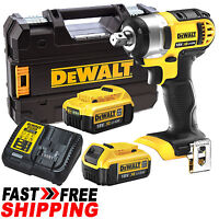 Dewalt 18v Xr Li-ion Cordless Compact Impact Wrench Driver Combo Kit