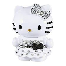 """Hello Kitty Limited Edition 4"""" Doll Collectible Black White Crystal Rhinestone"""