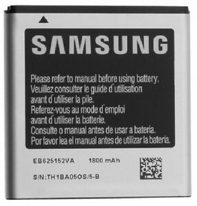 Bulk Packaging Samsung OEM 1800mAh EB625152VA Standard Battery Compatible with Samsung Galaxy S II Epic 4G Touch d710 for Sprint