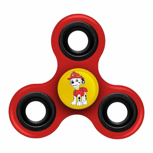"""PAW PATROL /""""MARSHALL/"""" RED FOCO FIDGET SPINNER OFFICIALLY LICENSED FREE SHIPPING"""