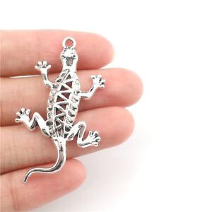 22416-10pcs-lot-Vintage-Gecko-Alloy-Charm-Diy-Jewelry-Findings-Pendant