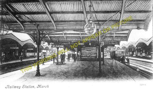 6 March Railway Station Photo Great Eastern Railway.