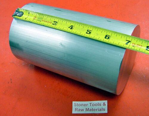 "4/"" ALUMINUM 6061 ROUND BAR ROD 6-7//8/"" LONG 4.000/"" T6511 New Lathe Solid Stock"