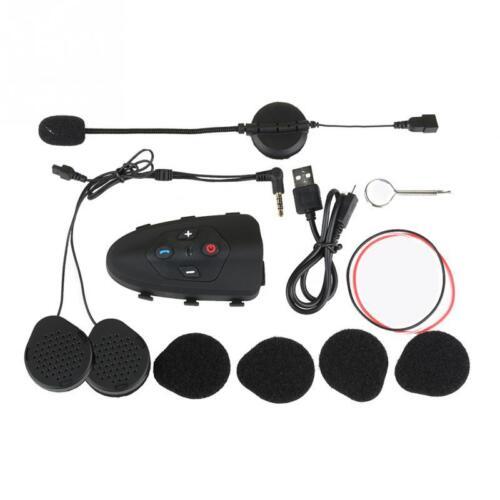 Motorcycle Helmet Walkie Talkie Bluetooth Intercom 2-Way Radio NEW 0.5W 1-3KM