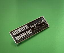 The Office Dwight Schrute's Dunder Mifflin ID Badge