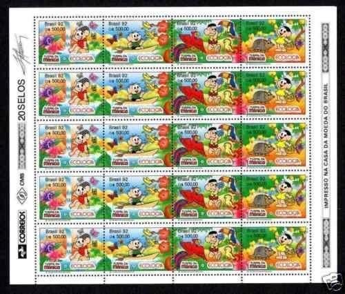 Brazilien 1896 Ganzsache 100% 40-reis Süd- & Mittelamerika Briefmarken
