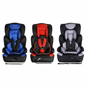 3 In 1 Convertible Child Baby Car Seat Safety Booster