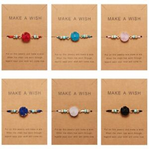 Fashion-Women-Make-a-Wish-Natural-Stone-Card-Bracelet-Women-Jewelry-Lucky-Gift