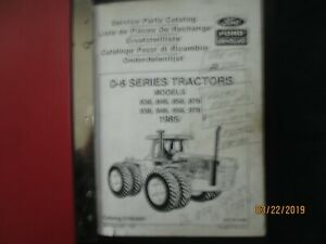 Details about FORD NEW HOLLAND SERIES D-6 MODELS 836 846 956 976 Tractor  Parts Manual Catalog
