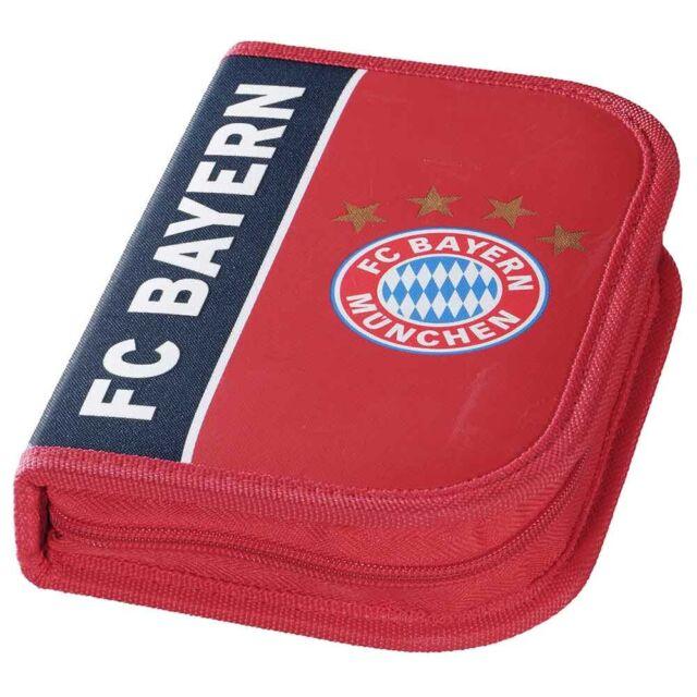 Neu FC Bayern München Federmäppchen  FC Bayern München 5135929 blau//rot