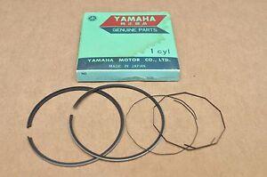 NOS New Yamaha 1972-73 DT2 DT3 70mm Standard Piston Rings for 1 Piston= 4 Rings