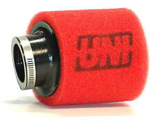 """HONDA GROM RUCKUS UNI 2 TWO STAGE AIR FILTER FOAM POD UP-4152AST 1 1/2"""" 38mm NEW"""
