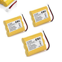 3pcs 800mah Phone Battery For Vtech 80-5071-00-00 Mg2423 At&t/lucent 3300 3301