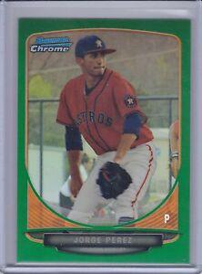 JORGE-PEREZ-2013-Bowman-Chrome-Draft-Draft-Picks-Green-Refractor-24-75-B7501