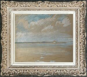 Marie-louise-druilhet-1897-1992-beach-scene-and-effects-of-clouds-8