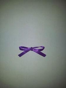 30-Satin-ribbon-hand-tied-bows-3mm-ribbon-various-colours-available