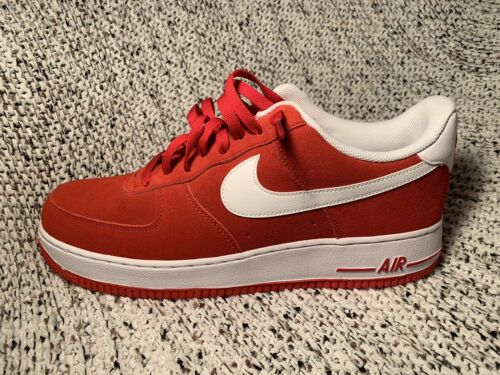University Nike 13 Force Red white Esaurito Air Taglia 1 '07 612 315122 IqAwZq