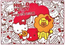 SANRIO HELLO KITTY & Mr. Donut Pon De Lion KAWAII Small Blanket Japan Limited