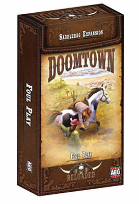 Reloaded Doomtown Alderac The Curtain Rises Saddlebag #10 $14.99 Value