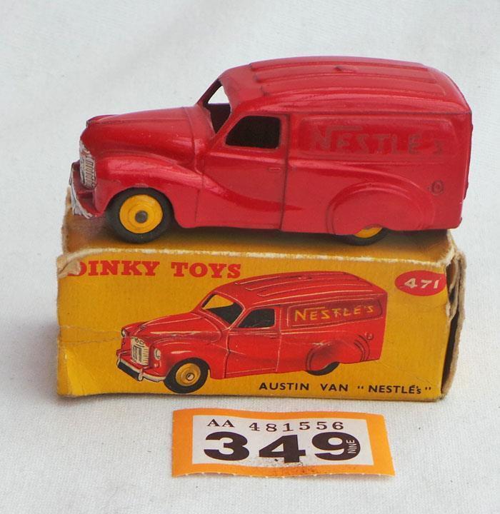 Dinky Toys 471 Austin van,  Nestles  in box