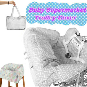 Baby-Shopping-Trolley-Cart-Seat-Cover-Cushion-Child-High-Chair-Pad-Mat-Foldable