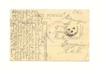 Intelligent Marokko Maroc 1916 Feldpost Karte Pow Kgf Auf Ak Mazagan Rabatte Verkauf